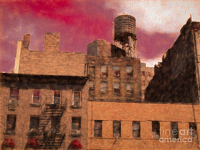 Mixed Media - Tenements by Susan Lafleur