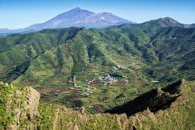 Photograph - Tenerife Mountain Landscape Teno Plateau by Matthias Hauser