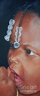 Painting - Teniya by Gwendolyn Frazier