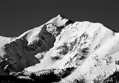 Tenmile Peak In Summit County Colorado Art Print