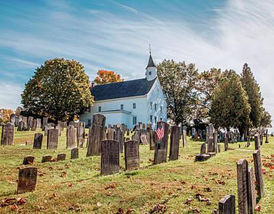 Manalapan Photograph - Tennent Presbyterian Church   Manalapan  Nj by John Radosevich