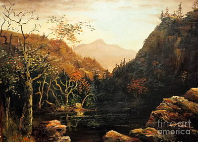 Cliff Lee Painting - Tennesse River by Lee Piper