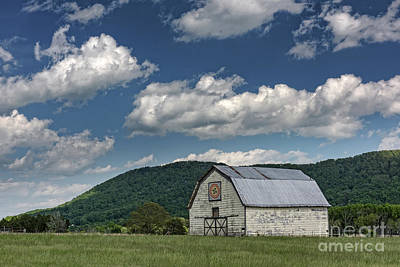 Tennessee Barn Quilt Art Print