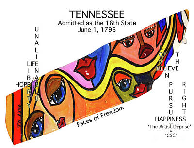 Painting - Tennessee by Deprise Brescia
