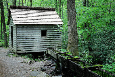 Photograph - Tennessee Grist Mill by Nicholas Blackwell