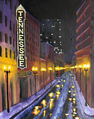 Volume Painting - Tennessee  by Mackenzie Matthews