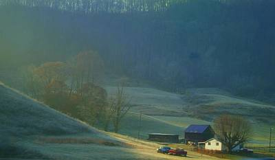 Tennessee Farm Photograph - Tennessee Morning.. by Al  Swasey