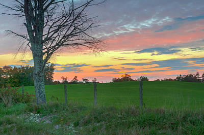 Photograph - Tennessee Sunset by David Waldrop