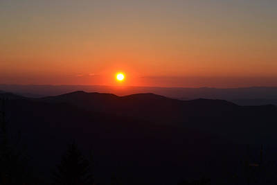 Photograph - Tennessee Sunset by rd Erickson