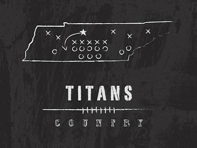 Tennessee Titans Art - Nfl Football Wall Print Art Print by Damon Gray