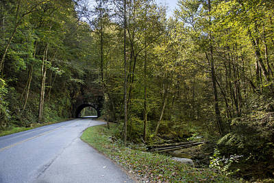 Photograph - Tennessee Tunnel by Ricky Dean