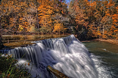 Photograph - Tennessee Waterfall by Van Sutherland