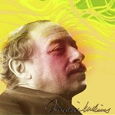 Digital Art - Tennessee Williams by Asok Mukhopadhyay