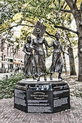 Photograph - Tennessee Woman Suffrage Memorial by Sharon Popek