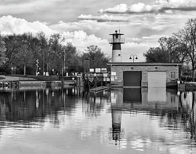 Photograph - Tenney Lock 3 - Madison - Wisconsin by Steven Ralser