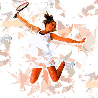 Painting - Tennis 115 by Movie Poster Prints
