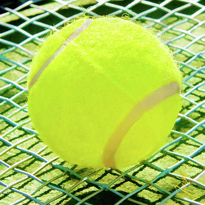 Mixed Media - Tennis Ball by Jackie Jacobson