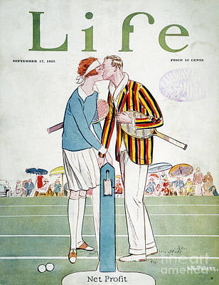 Photograph - Tennis Court Romance, 1925 by Granger