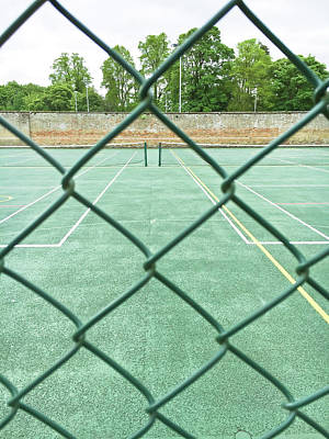 Tennis Photograph - Tennis Court by Tom Gowanlock