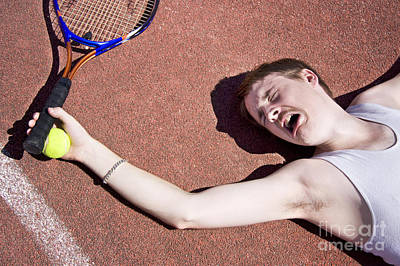 Clay Court Photograph - Tennis Elbow by Jorgo Photography - Wall Art Gallery