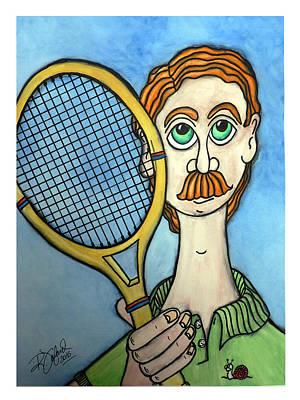 Tennis... Man... - Tennis ... Homme... Original by Fafard