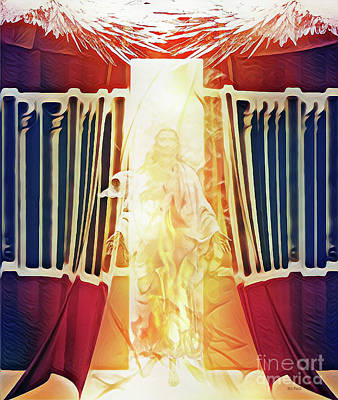 Digital Art - Tent Of Meeting by Jennifer Page