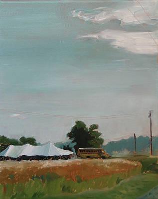 Painting - Tent Revival by Laura Wilson