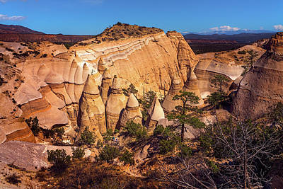 Photograph - Tent Rocks From Above by Robert FERD Frank