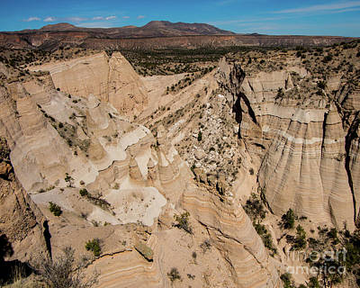Photograph - Tent Rocks National Monument 2 by Steve Whalen