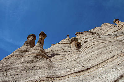 Photograph - Tent Rocks National Monument 3 by Steve Whalen