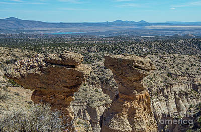 Photograph - Tent Rocks National Monument 5 by Steve Whalen