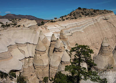 Photograph - Tent Rocks National Monument 6 by Steve Whalen