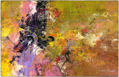Painting - Tentative Synthesis by Judith Barath