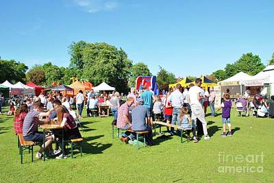 Photograph - Tenterden Food And Drink Festival  by David Fowler