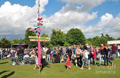 Photograph - Tenterden Tentertainment Music Festival by David Fowler