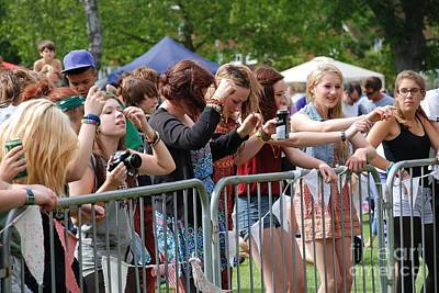 Photograph - Tentertainment Music Festival by David Fowler