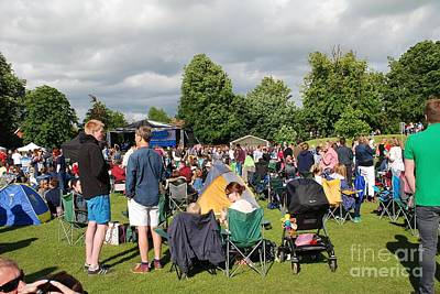 Photograph - Tentertainment Music Festival In Kent by David Fowler