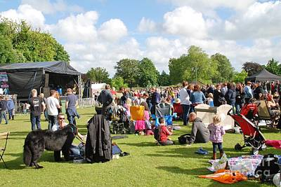 Photograph - Tentertainment Music Festival In Tenterden by David Fowler
