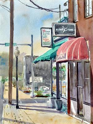 Mount Vernon Painting - Tenth And Jordan by Spencer Meagher
