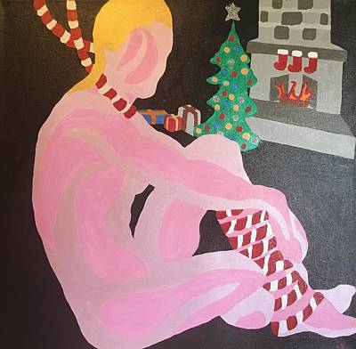 Painting - Tenth Christmas by Erika Chamberlin