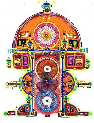 Painting - Teonanacatl by Felipe Perez
