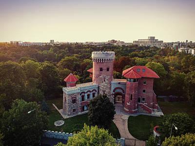 Photograph - Tepes Castle, Bucharest by Chris M