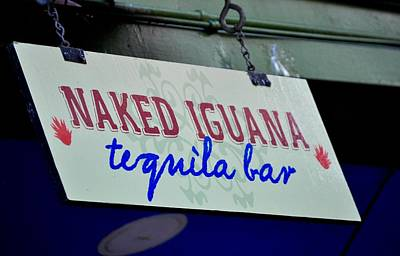 Photograph - Tequila Bar Sign by Kristina Deane