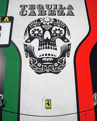 Photograph - Tequila Cabeza Ferrari #33 by Alan Raasch
