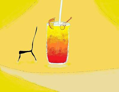 Digital Art - Tequila Sunrise For Glenn Frey by Jim Taylor