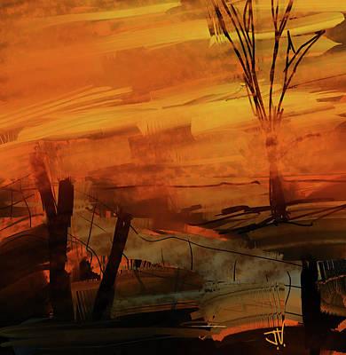 Digital Art - Tequila Sunrise by Jim Vance