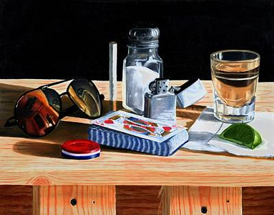 Painting - Tequila With Lime No. 6 by Thomas Weeks