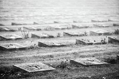 Photograph - Terezin Cemetery Graves - Czechia by Stuart Litoff