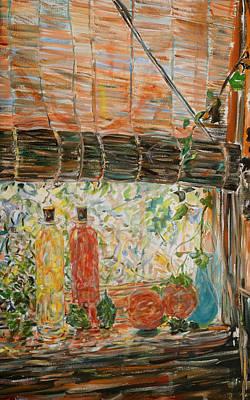 Painting - Terhune by Caroline Krieger Comings