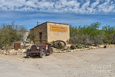 Rural Landscapes Photograph - Terlingua Chili Cook Off by Tod and Cynthia Grubbs